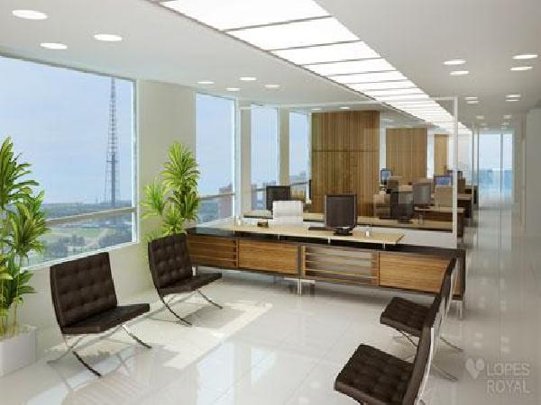 Executive Office Tower - Perspectiva Meio Pavimento